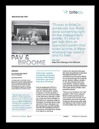Pav&BroomeSucess