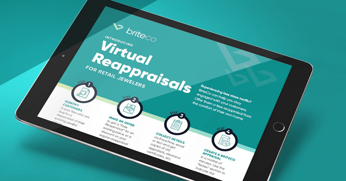 Keep customers engaged and generate income with BriteCo Virtual Reappraisals