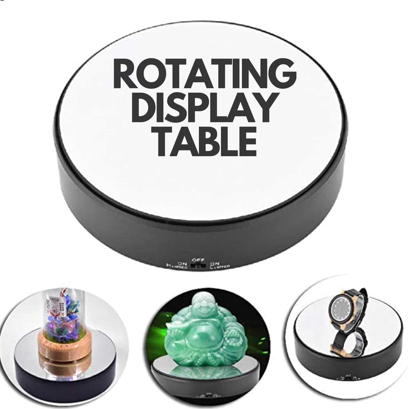 Rotating Display Table