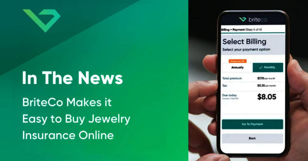 In the News - BriteCo Makes it Easy to Buy Jewelry Insurance Online