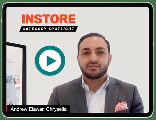 Andrew Elawar in INSTORE category spotlight